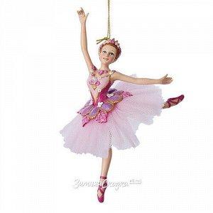 Елочное украшение Балерина Офелия 18 см, подвеска (Kurts Adler)