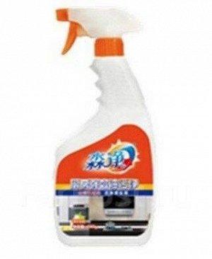 Чистящее средство для кухни для керамики и эмали с антибактериальным эффектом (Содержит растительные масла и фитонциды), спрей-курок, 500 мл