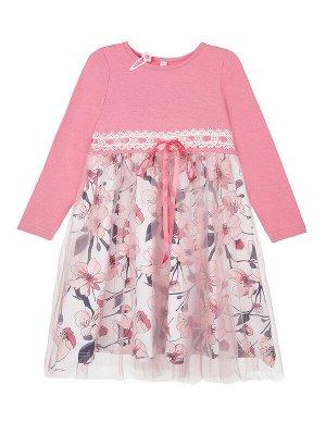 Платье Состав: 95% хлопок, 5% эластан; Сезон: Осень, Зима, Весна; Цвет: светло-розовыйПлатье из качественного приятного на ощупь трикотажа  • высокое содержание хлопка 95%  • благодаря наличию эластан