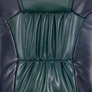 """Кресло руководителя """"Оксфорд"""", экокожа, черное МК-055"""