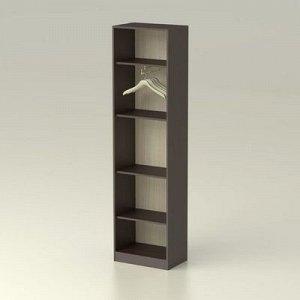 Шкаф 1 без зеркала Модуль 536х343х2016 венге/дуб млечный
