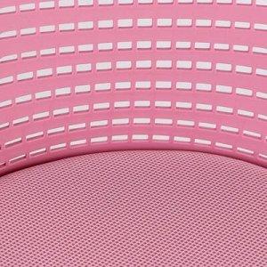 "Кресло ""Kiddy"", ткань, розовый"