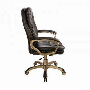 Кресло руководителя CH-868YAXSN, темно-коричневый, искусственная кожа