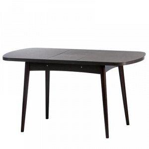 Стол раскладной Ялта-1 1100/1420х700х750 Анкор темный/ венге/опоры массив цилиндрический