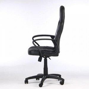 "Кресло игровое ""RUNNER MILITARY"", экокожа/ткань, серый"