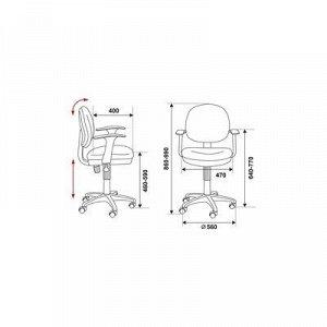 Кресло CH-W356AXSN/15-55 розовый