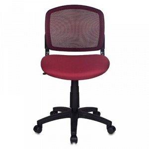 Кресло Бюрократ CH-296/DC/15-11 спинка сетка темно-бордовый, сиденье бордовый 15-11