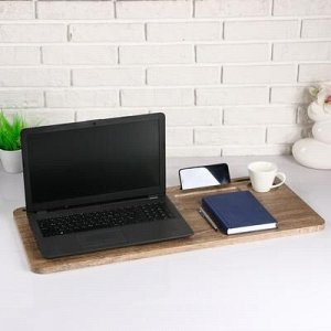 Подставка для ноутбука прямая, 760х16х360, Миндаль МДФ
