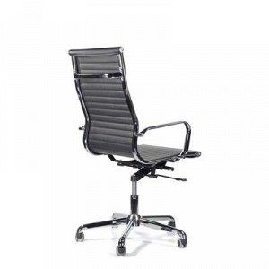 Кресло Кайман В СН-300 хром (черный)