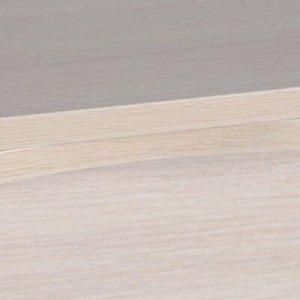 Стол ломберный Мини 500/1000х590х750 металик серый/Дуб млечный