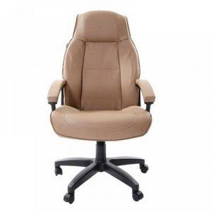 Кресло офисное BRABIX Formula EX-537, экокожа, песочное