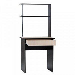 Стол компьютерный СК4, 680х550х1500, венге / дуб молочный