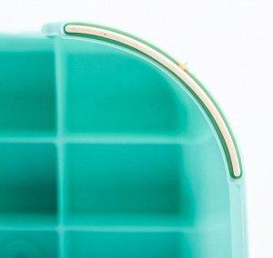 Детский табурет-подставка с прорезиненной рельефной поверхностью