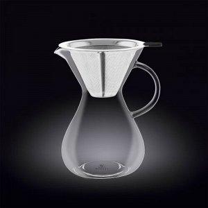 WILMAX Thermo Glass Кофе-декантер 700мл WL-888853A