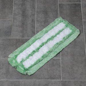 Насадка для плоской швабры, 40 см, микрофибра, цвет МИКС