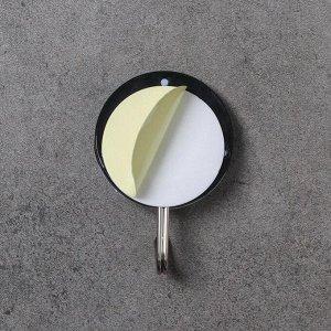 Набор крючков на липучке Доляна «Спорт», 4 шт, цвет МИКС