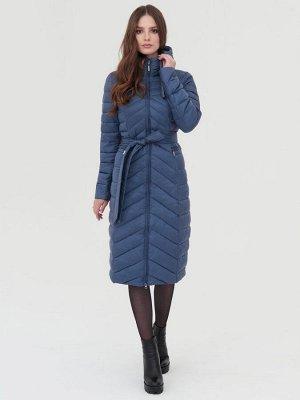Пальто серо-голубой S-XXL