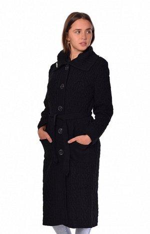 Пальто 1025вчерный