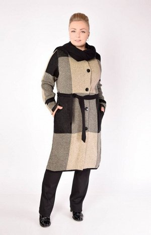 Пальто 1029 бежевый