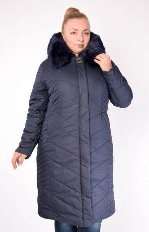 Пальто 822 Женское пальто хорошего качества. Легкое и теплое. Выдерживает температуру до минус 15 градусов. Мех на воротнике искусственный, отстегивается. Застежка на молнию. Два боковых кармана, кото