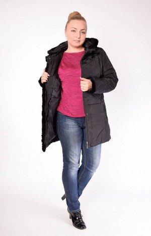 Куртка 846 Стеганая женская куртка с отделкой из натурального меха норки. Размер-в-размер. Выдерживает температуру до минус 15 градусов. Теплая. Легкая. Комфортная. Практичная. Верх: 100% ПЭ Наполните