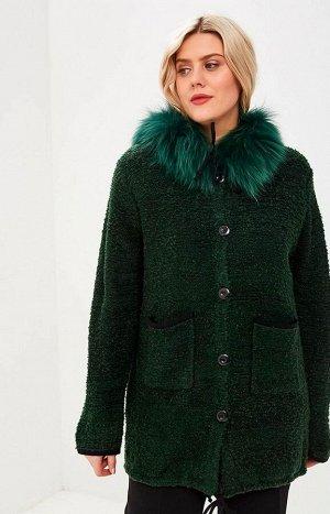 Пальто 2515зеленый