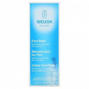 Weleda, Foot Balm, 2.5 fl oz (75 ml)