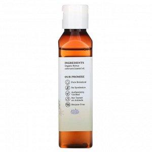 Aura Cacia, Skin Care Oil, Organic Castor, 4 fl oz (118 ml)
