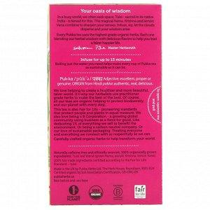Pukka Herbs, Органический тулси ясность, без кофеина, 20 пакетиков травяного чая, 1,27 унции (36 г)