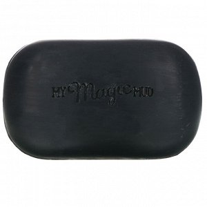 My Magic Mud, Charcoal, Coconut Oil Soap, Grounding Vetiver Amber, 5 oz (141.7 g)