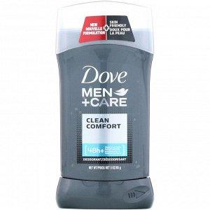 Dove, Men + Care, дезодорант, «Чистый комфорт», 85 г (3 унции)