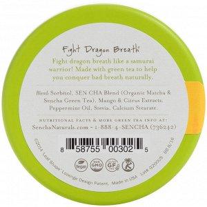 Sencha Naturals, Мятные леденцы с зеленым чаем, тропический манго, 1,2 унции (35 г)