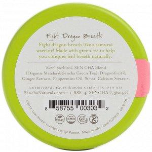 Sencha Naturals, Зеленый мятный чай, розовая питайя, 1,2 унц. (35 г)