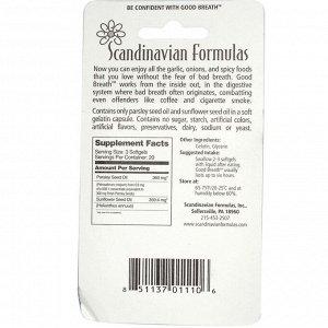 Scandinavian Formulas, Свежее дыхание, 60 капсул