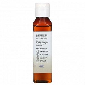 Aura Cacia, Органическое кунжутное масло для ухода за кожей, 4 жидкие унции (118 мл)