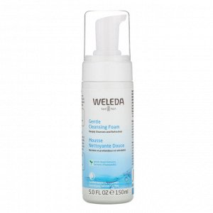 Weleda, Gentle Cleansing Foam, Witch Hazel Extracts, 5.0 fl oz (150 ml)