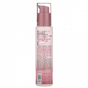 Giovanni, 2chic, Frizz Be Gone, Leave-In Conditioning & Styling Elixir, Shea Butter + Sweet Almond Oil, 4 fl oz (118 ml)