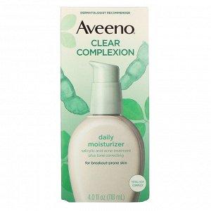 Aveeno, Active Naturals, ежедневное увлажняющее и очищающее средство, 120 мл (4 жидк. унции)