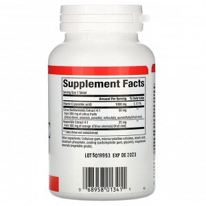Natural Factors, Vitamin C, 1,000 mg, 90 Time Release Tablets