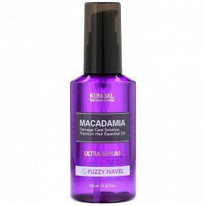 Kundal, Macadamia, Ultra Serum, Fuzzy Navel, 3.38 fl oz (100 ml)