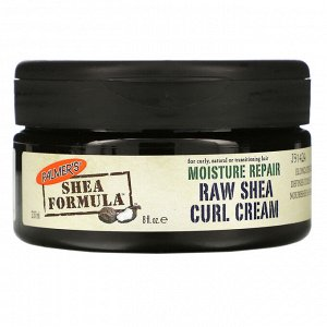 Palmer&#x27 - s, Shea Formula, увлажнение и восстановление, крем для кудрявых волос с нерафинированным маслом ши, 8 ж. унц.(237 мл)