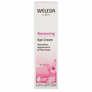 Weleda, Renewing Eye Cream, Wild Rose Extracts, 0.34 fl oz (10 ml)