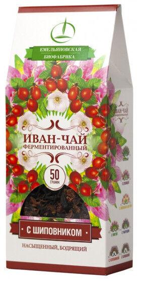 Иван-чай ферментированный с шиповником