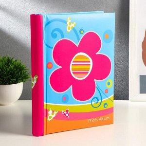 """Фотоальбом магнитный на 20 листов """"Яркие цветы"""", микс"""