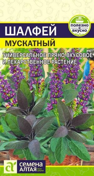 Зелень Шалфей Мускатный/Сем Алт/цп 0,1 гр.