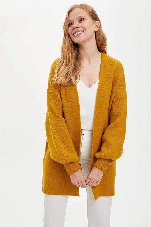 Кардиган желтый