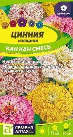 Цинния Кан Кан изящная/Сем Алт/цп 0,3 гр.
