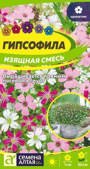 Гипсофила Изящная Смесь/Сем Алт/цп 0,3 гр.