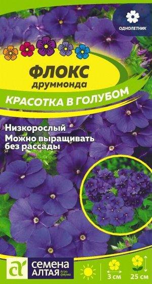 Флокс Красотка в голубом Друммонда/Сем Алт/цп 0,1 гр