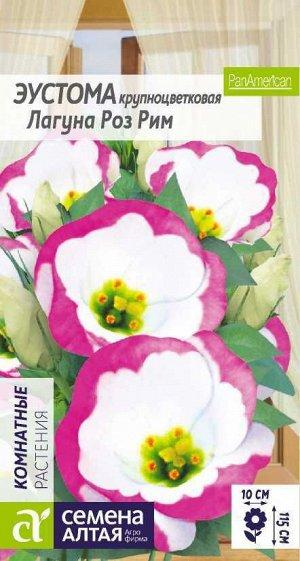 Цветы Эустома Лагуна Роз Рим крупноцветковая/Сем Алт/цп 5 шт.